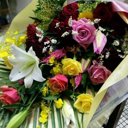 ダンスパーティの花束