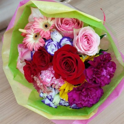 昇進祝いの花束