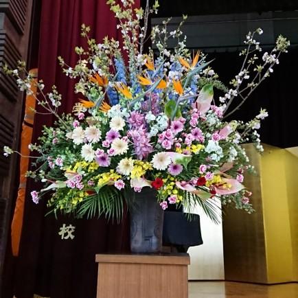 入学式 式場装花