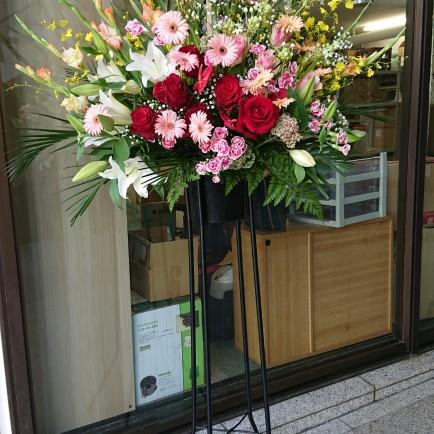 コーヒー豆専門店のオープンのお祝い
