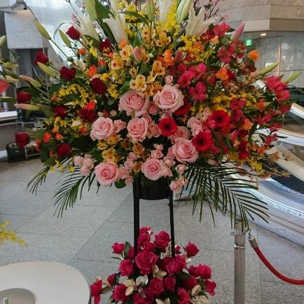 北区 フェニックスホールへリサイタル公演のお祝い花