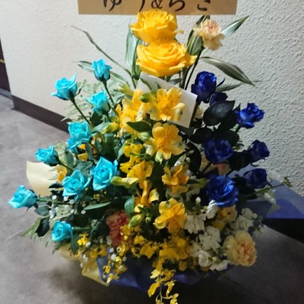アメリカ村のエステサロンへ開店お祝い花